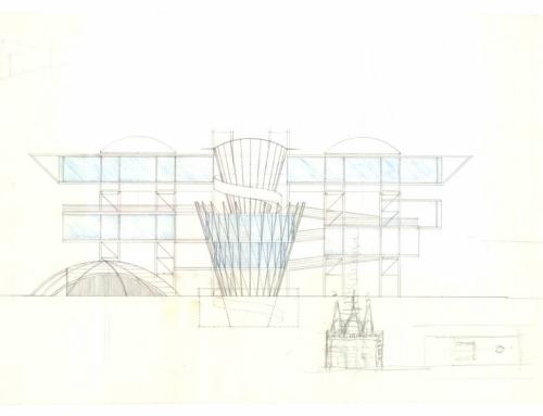 1989 – concorso edificio polifunzionale a Bari -collaborazione